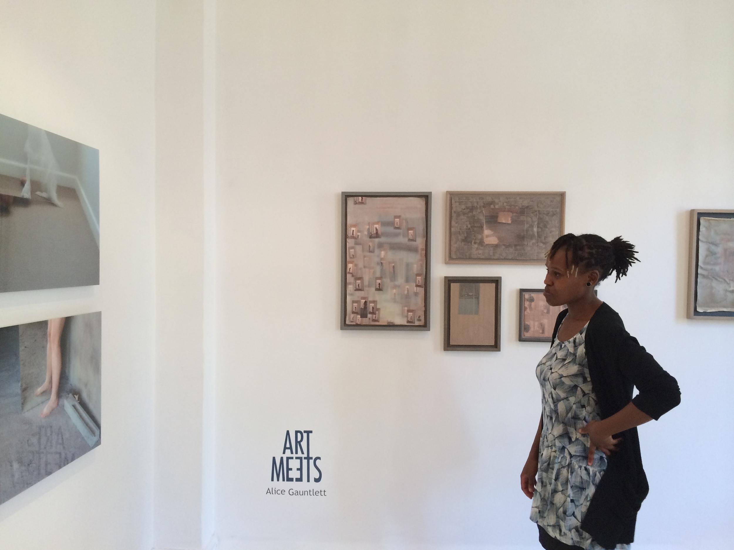 Art Meets #Alice Gauntlett