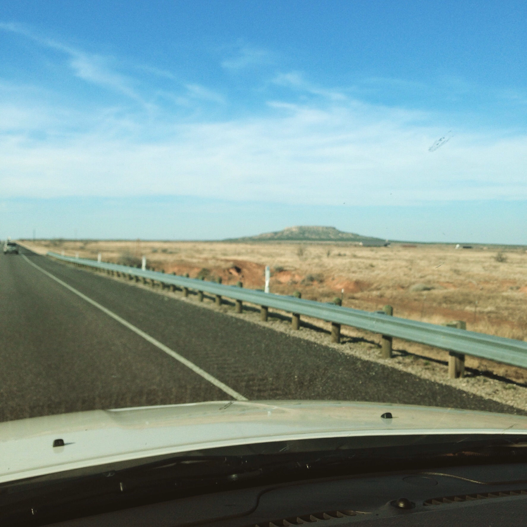 On the road to west Texas