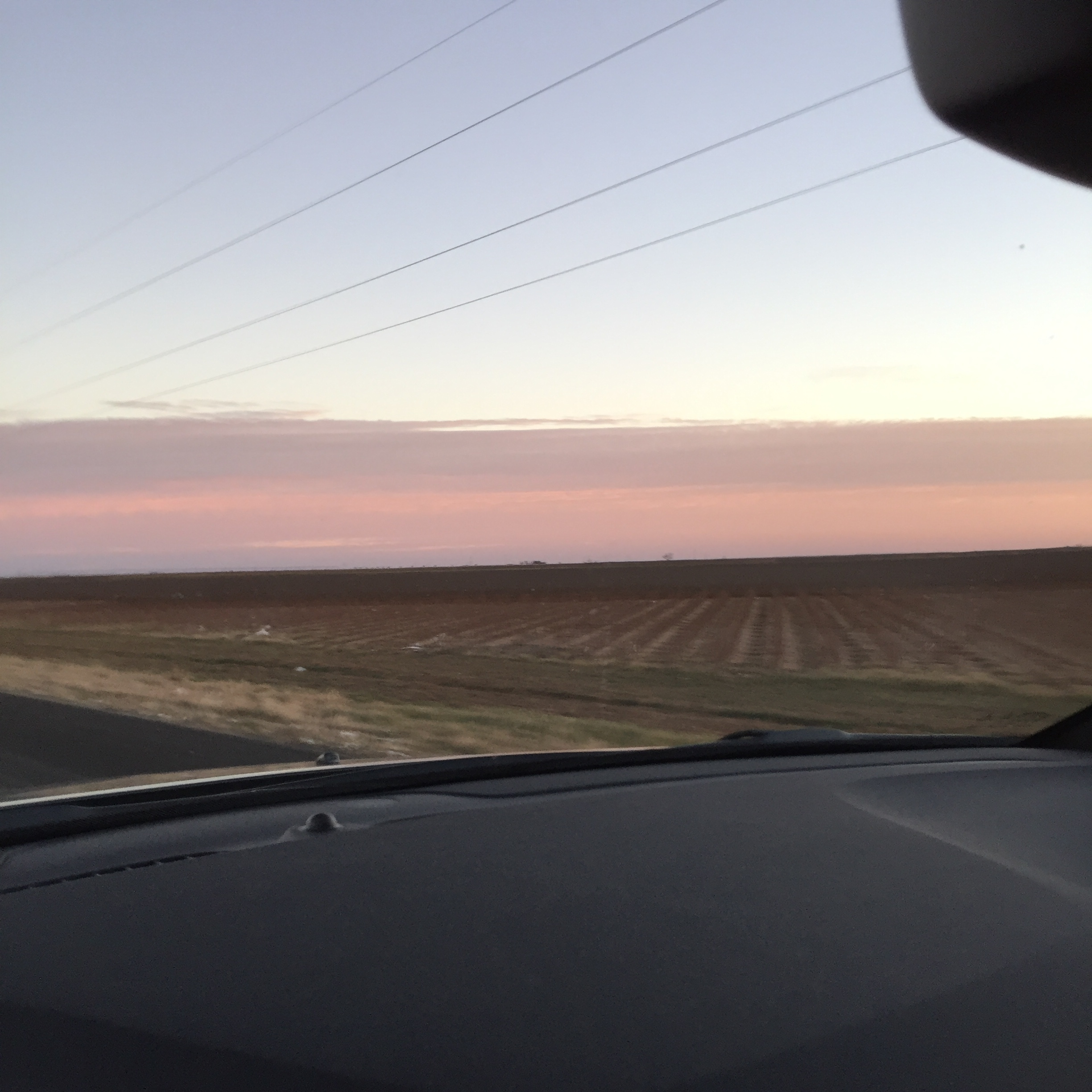 Wintry West Texas