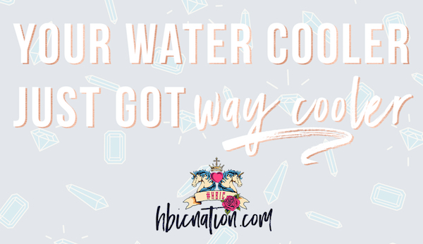HBIC Nation Water Cooler