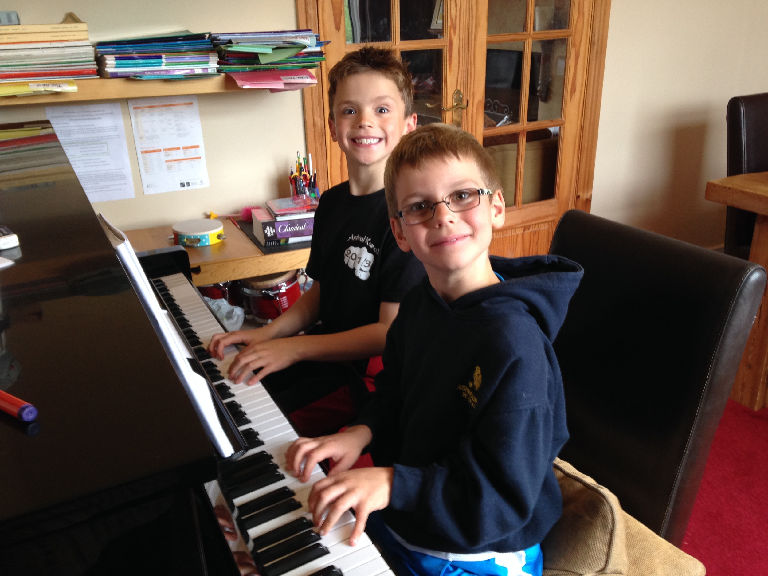Duet piano session