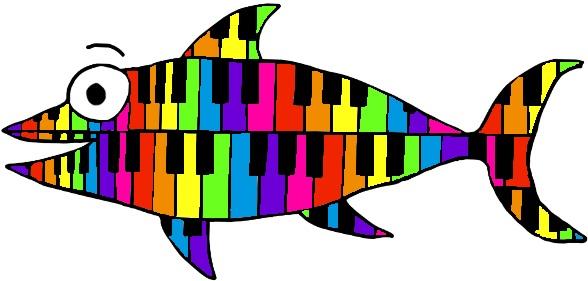 Piano tuna (covered in scales!)