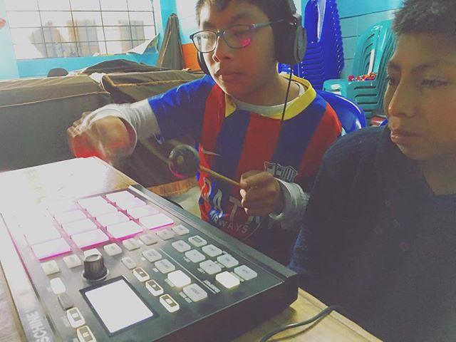 Marimba with Maschine
