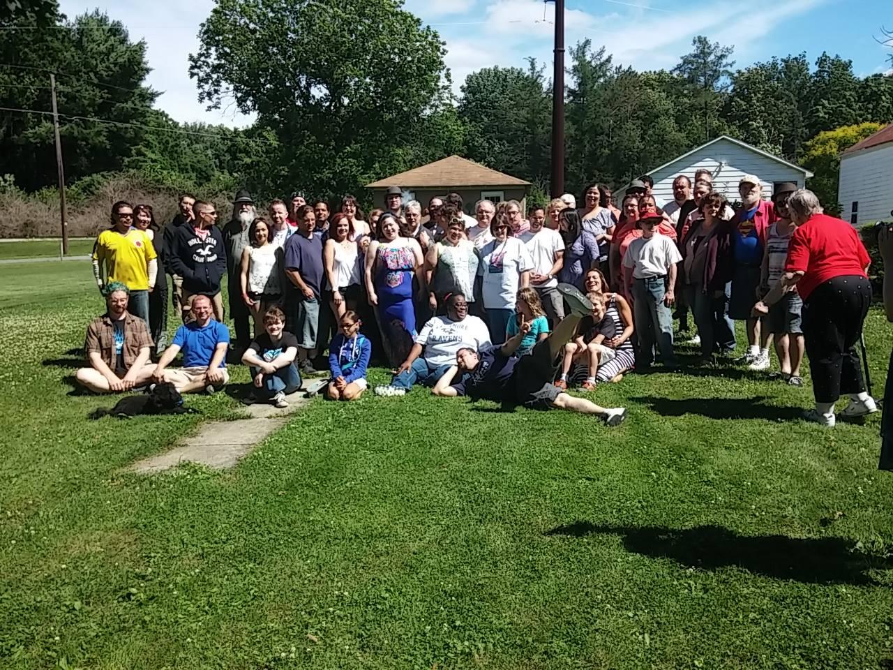 2014 BBQ Group Photo