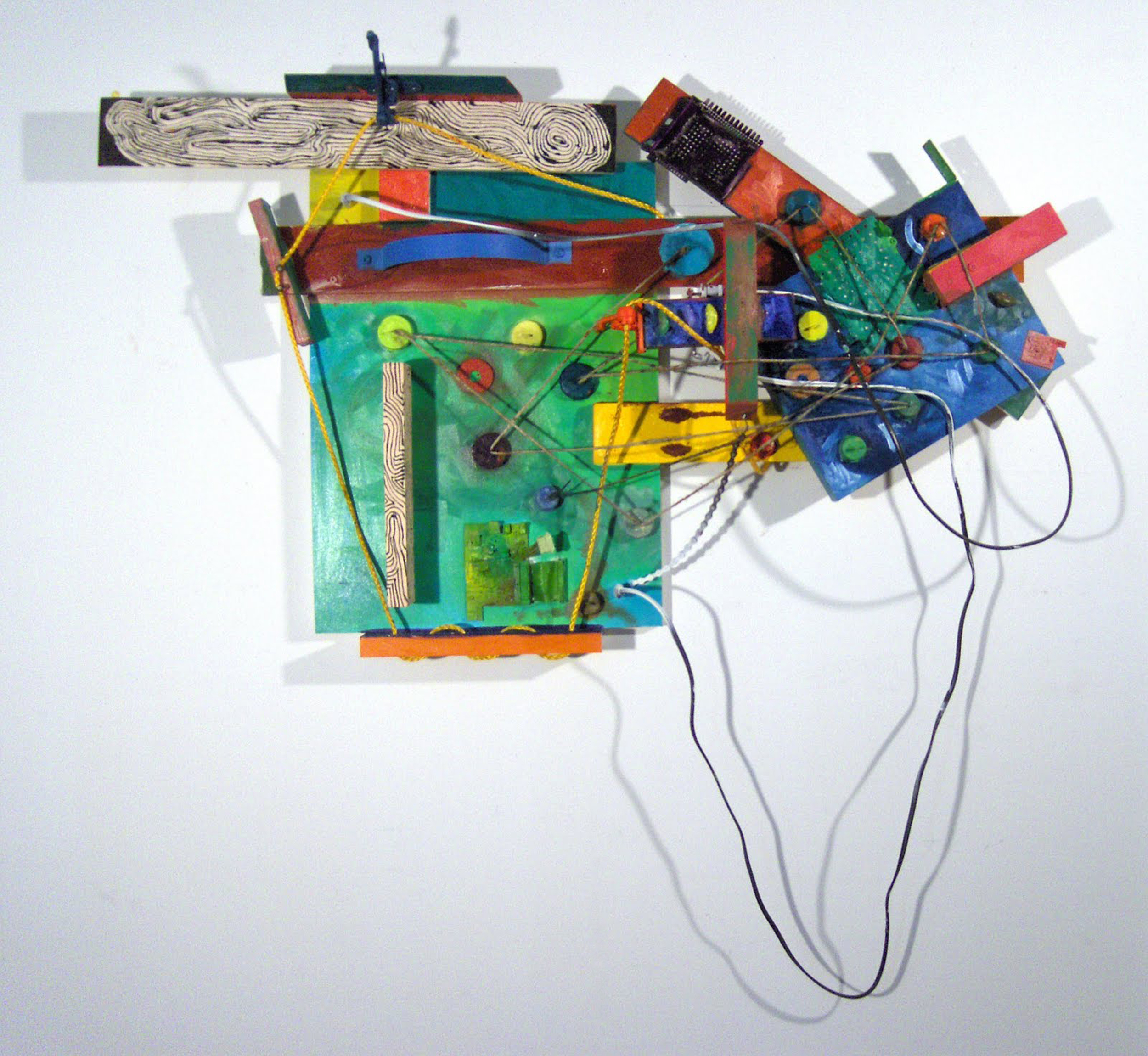 Minute-Made, Mixed Media Assemblage, 31%22x46%22, 2010.jpg