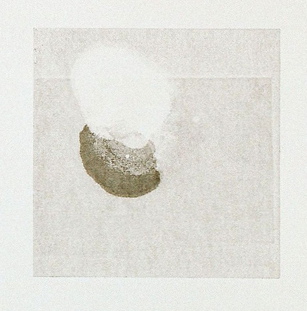 Bleed , Monotype on BFK Reeves Paper, 20x20cm, 2012