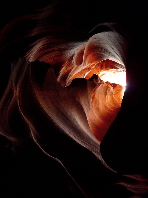 Heart of Antelope Canyon, AZ Honorable Mention