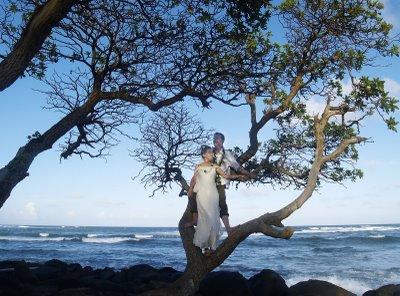 Sylvia & Paul Kauai Wedding 2005
