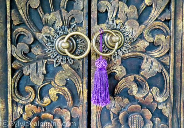 Purple Tassle Bali