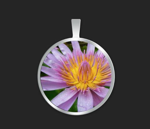 Kauai Lotus medium round $40
