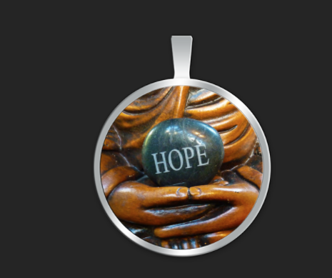 Hope hands small round $35