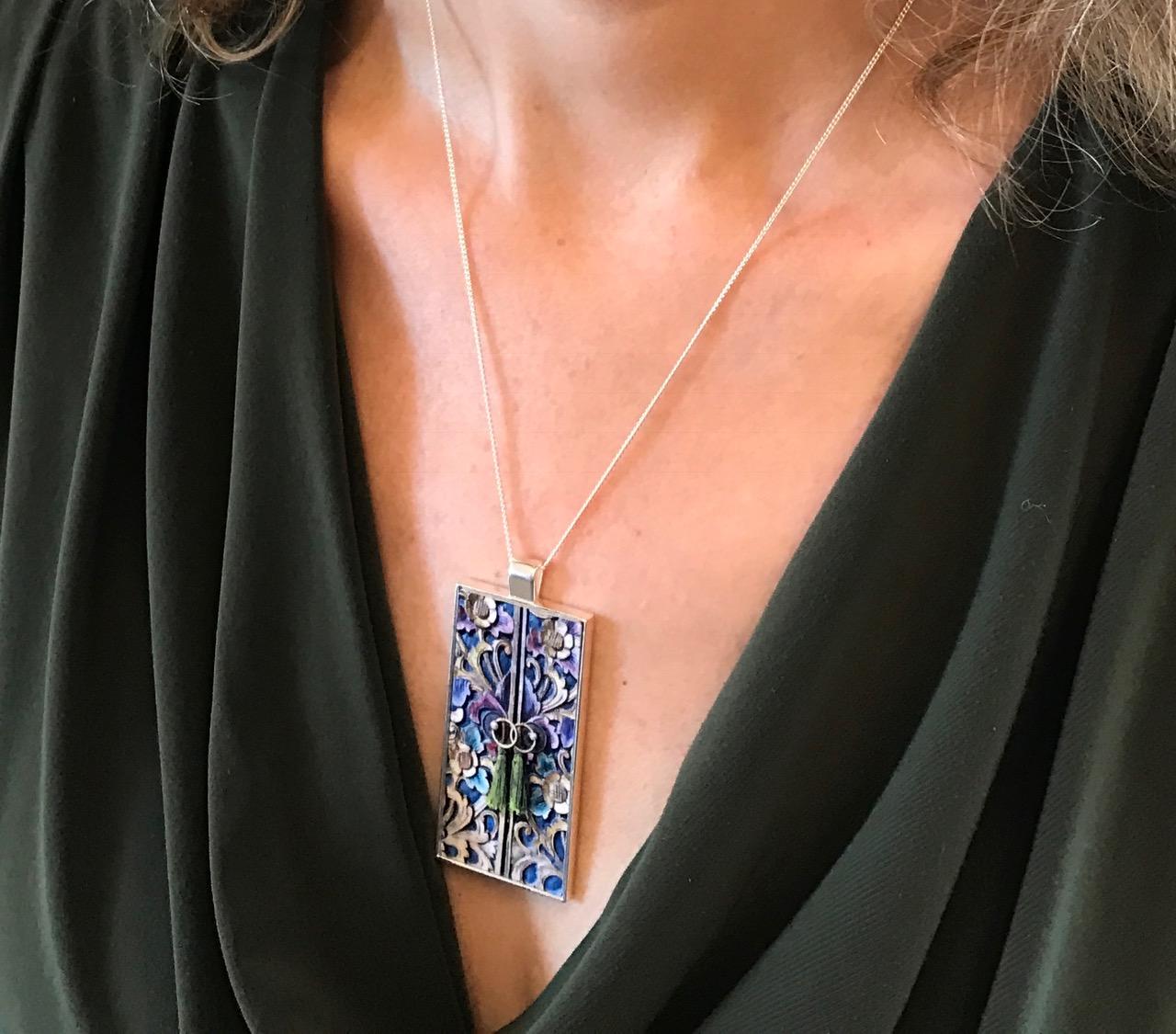 Photo necklace $45