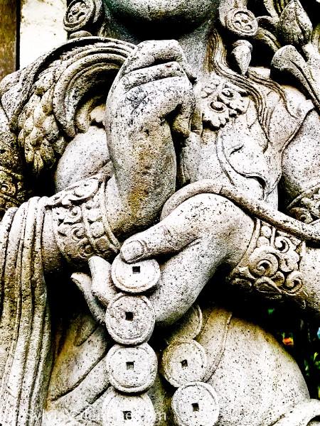 Statue Coins Bali