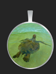 Circle necklace small $35 medium $40
