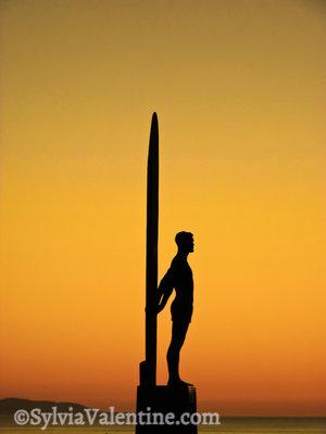 Surfer Gold, Santa Cruz, CA
