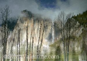 Yosemite Falls Reflection (untouched)