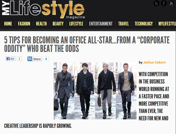 Article written by Joshua Coburn for My Lifestyle Magazine.
