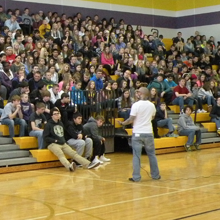 Manners & Motivation Tour Waukee Middle School