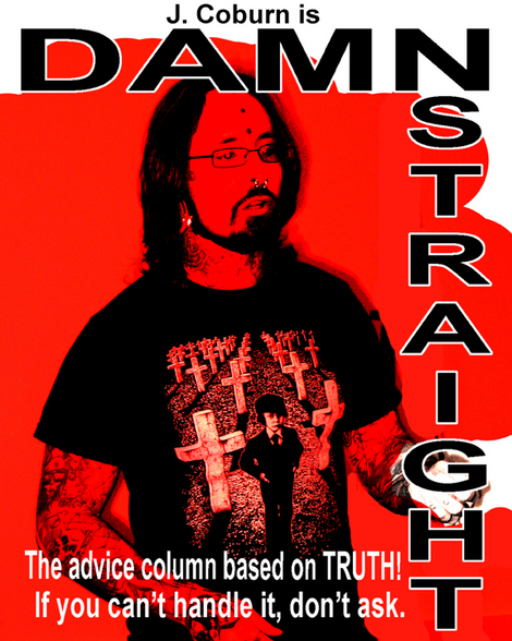 "Original cover of the unreleased ""Damn Straight"""