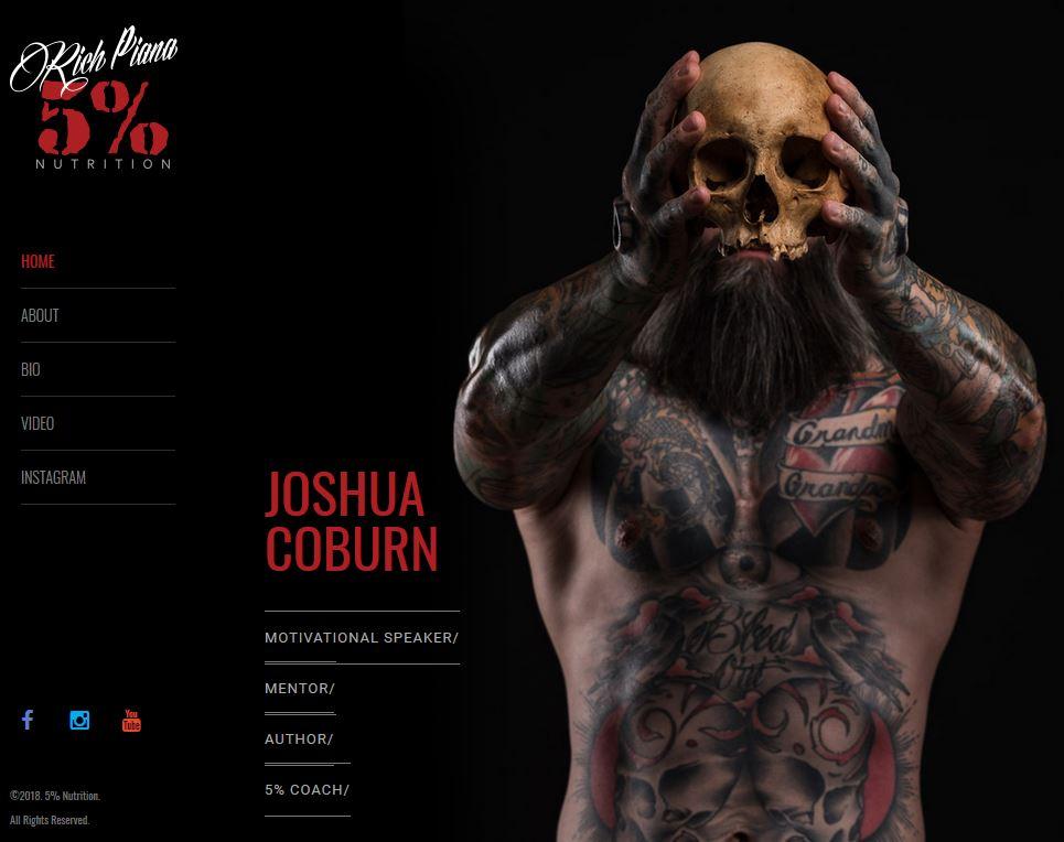 Joshua Coburn profile:  5% Nutrition .