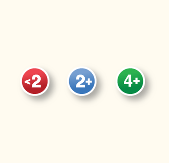 Parking availability icons  (Toggle-able with the price icons)