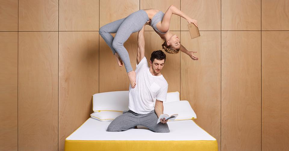 Eve mattress reading upsidedown with tudor.jpg