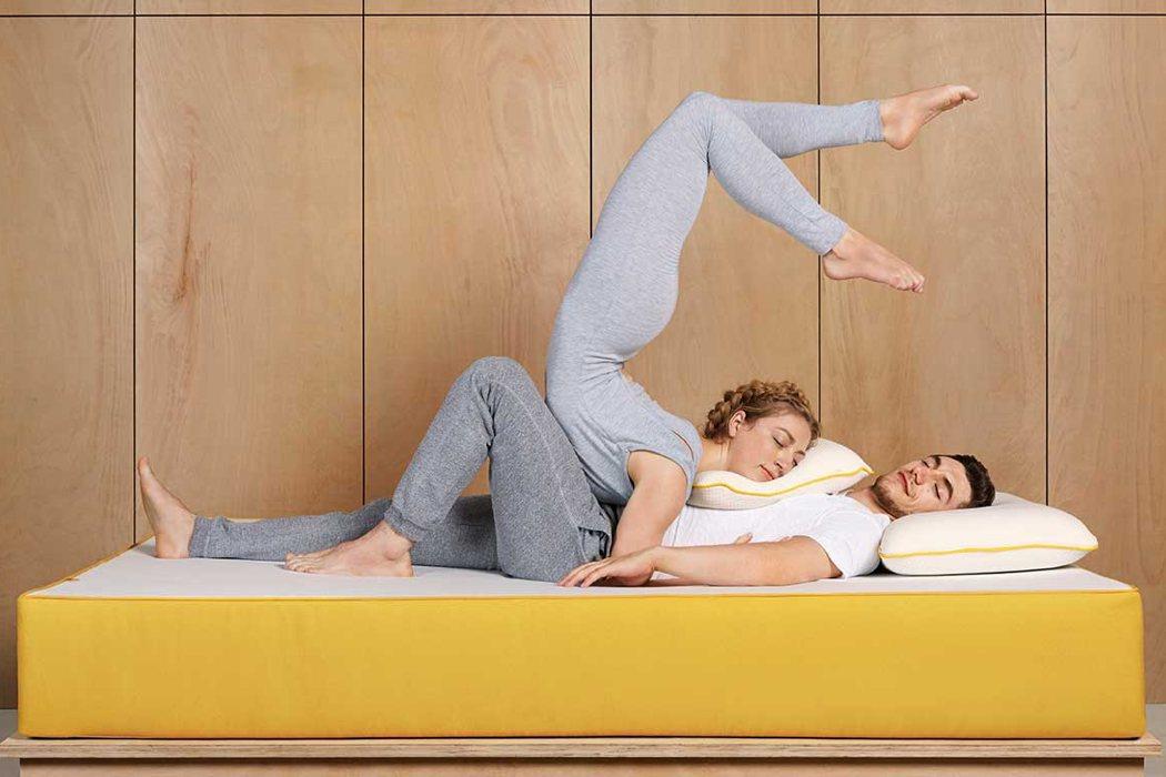 Eve Mattress sleeping on tudor.jpg