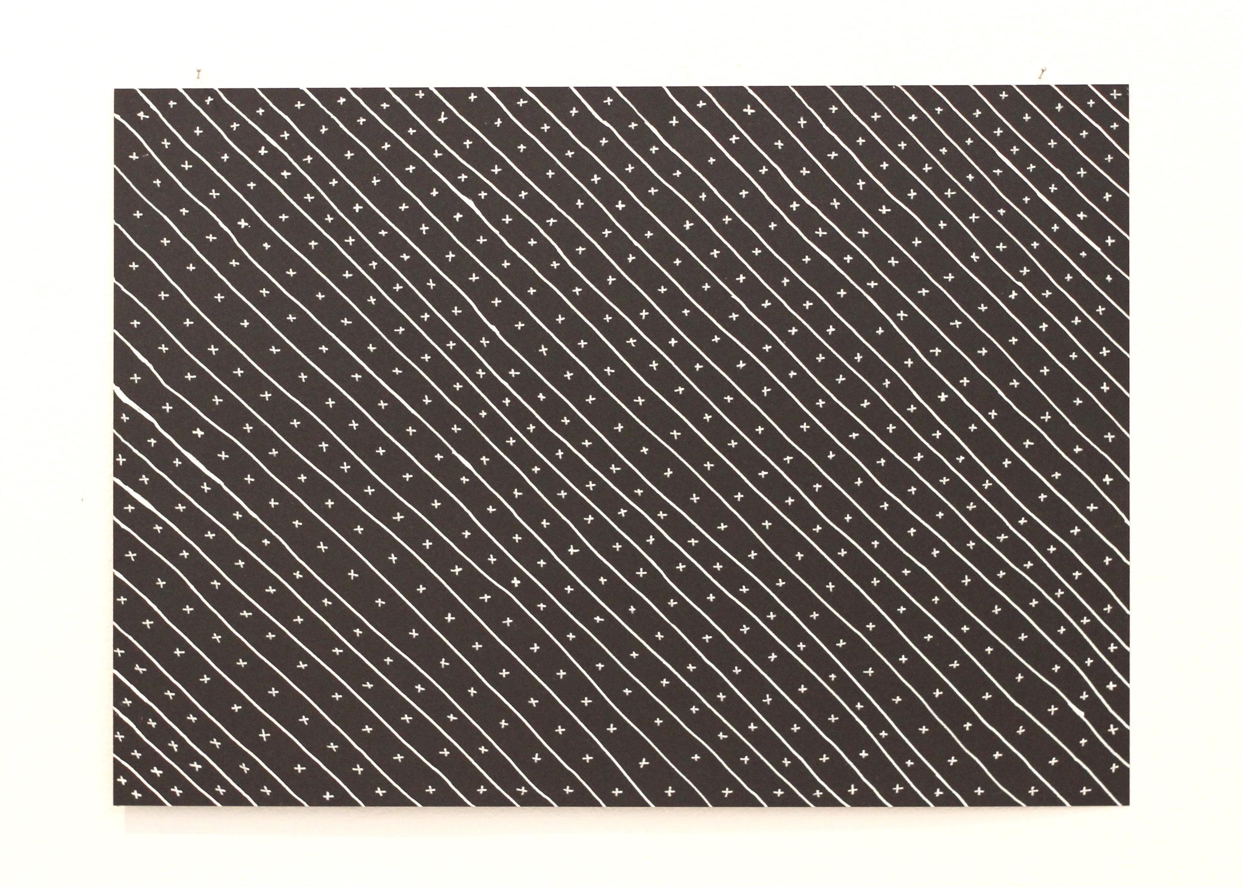 We have always been here, Léuli Eshraghi, ink on card, 21 x 29.5cm, 2014