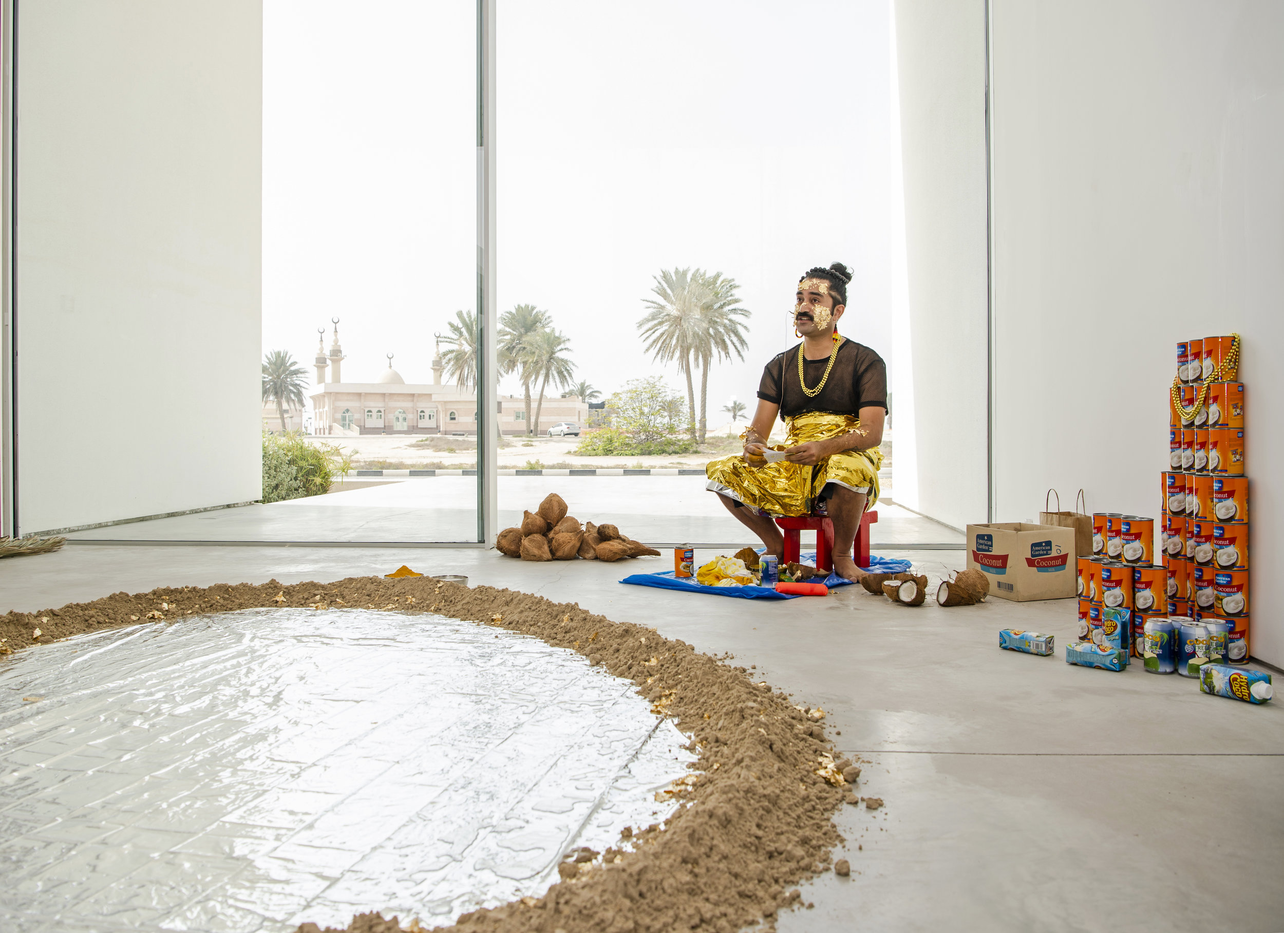 tagatanuʻu (2019) by Léuli Eshrāghi, Sharjah Biennial 14 Beyond the Echo Chamber - Image courtesy of Sharjah Art Foundation 02.jpg