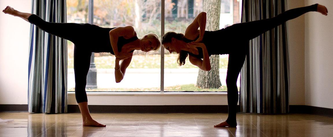 Heidi & Angie from Harbor Yoga