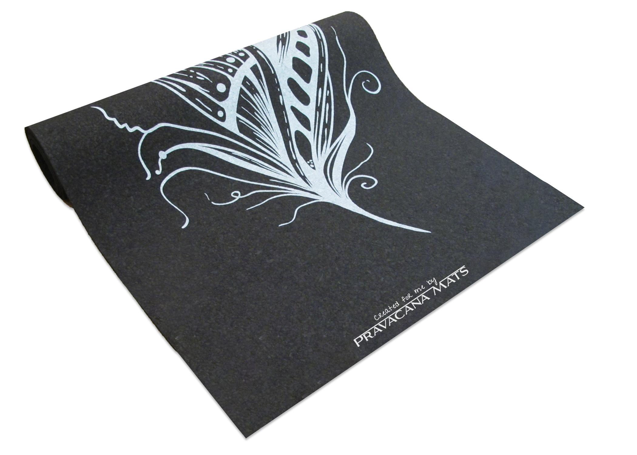 Recycled Rubber Custom Printed Yoga Mat