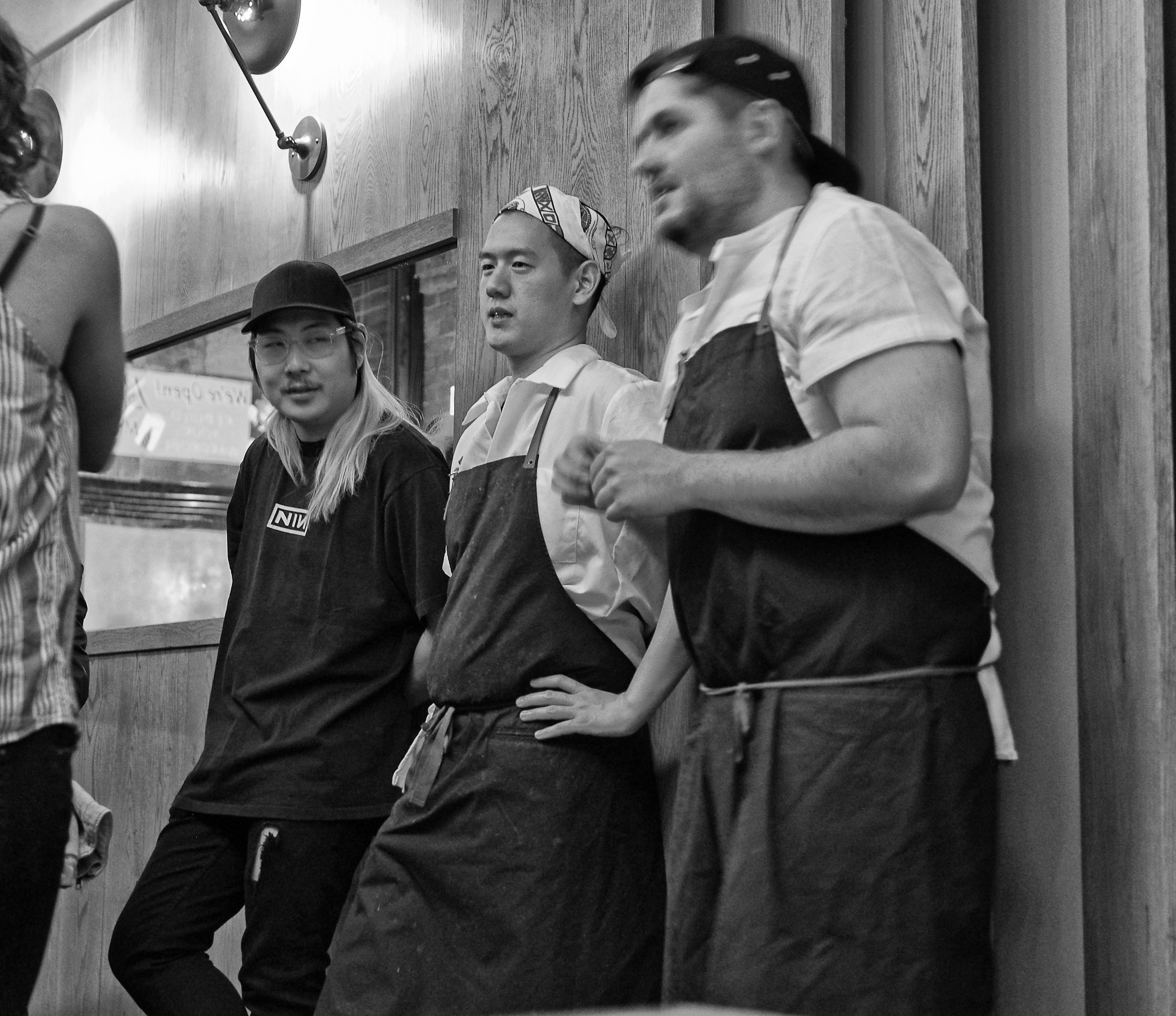 Danny Bowien,  Mission Chinese Food,  Jeremiah Stone, Fabian von Hauske,  Contra