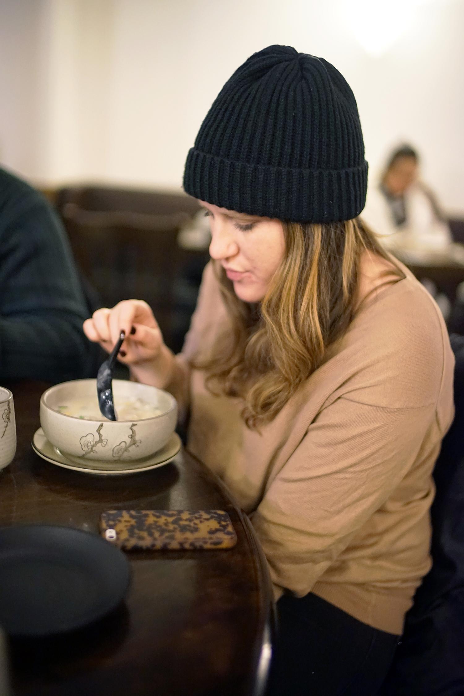 Julia's first congee