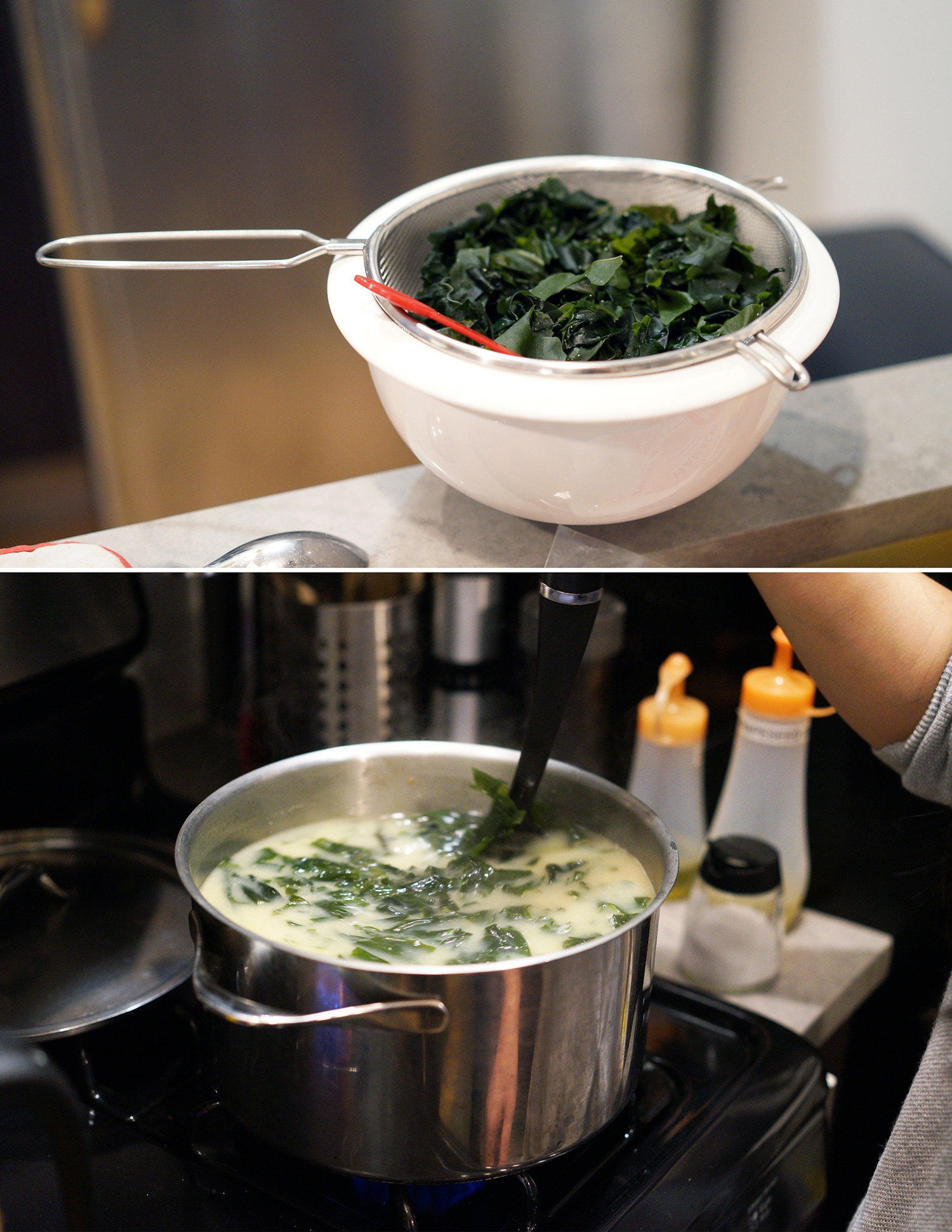 Miso Soup with Seaweed