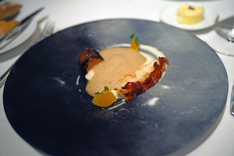 Maine Lobster – parsnip, pistachio, quatre     épices