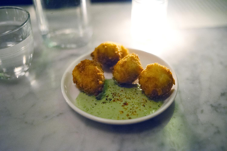 Cod and Potato Croquettes