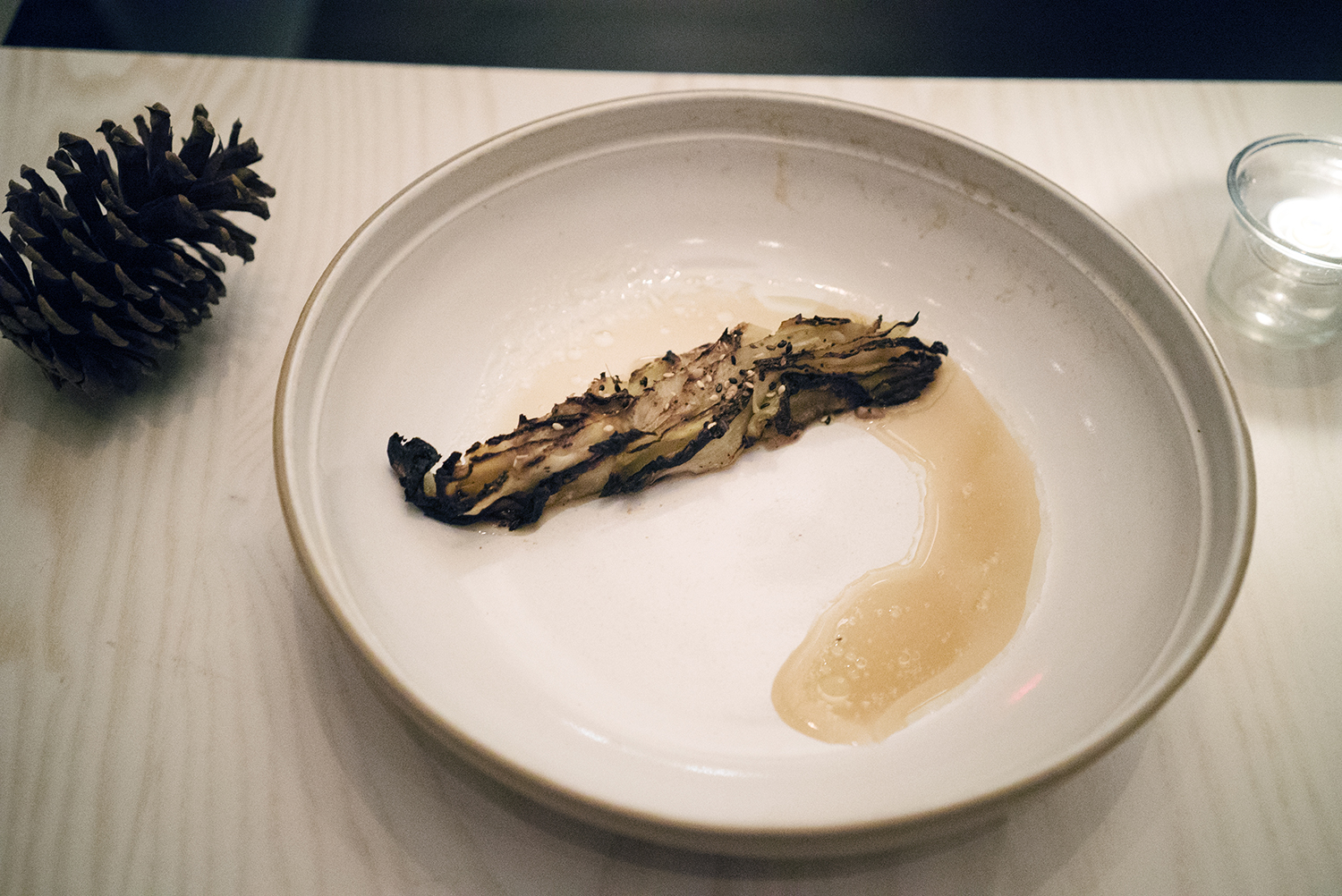 BARBECUED CABBAGE - Rutabaga, Apple and Toasted Seeds