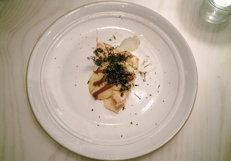 CATO CORNER'S DAIRYERE - Truffle, Turnip, Quince