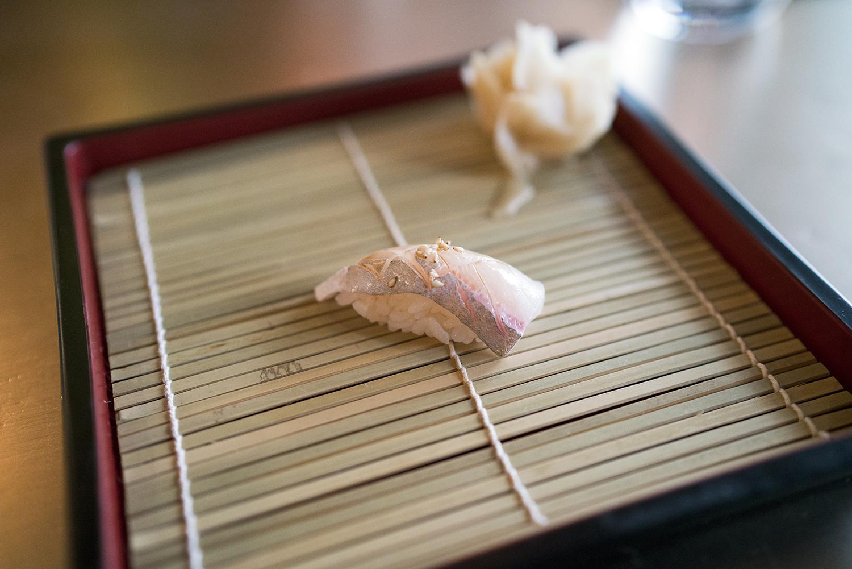 Kampachi (Amberjack) belly, Japan