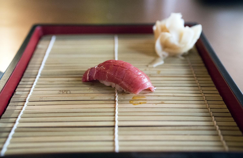 Chutoro (medium fatty tuna), Boston
