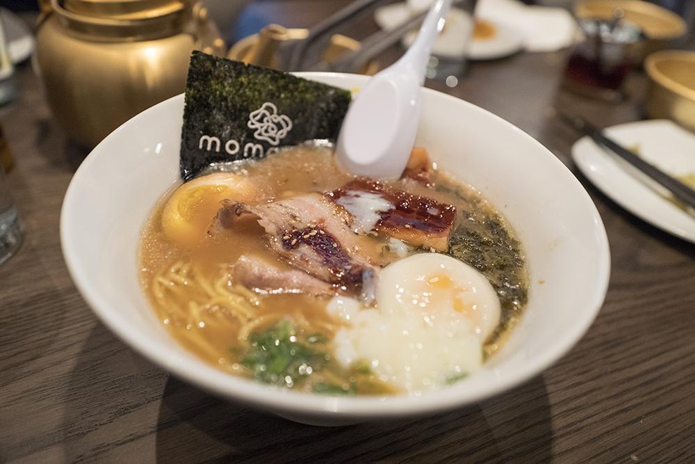 Tonkotsu with poached egg