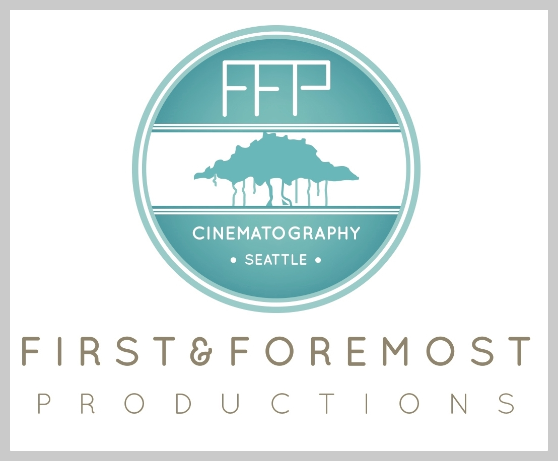 Seattle Wedding Videography, First and Foremost Productions, Logo