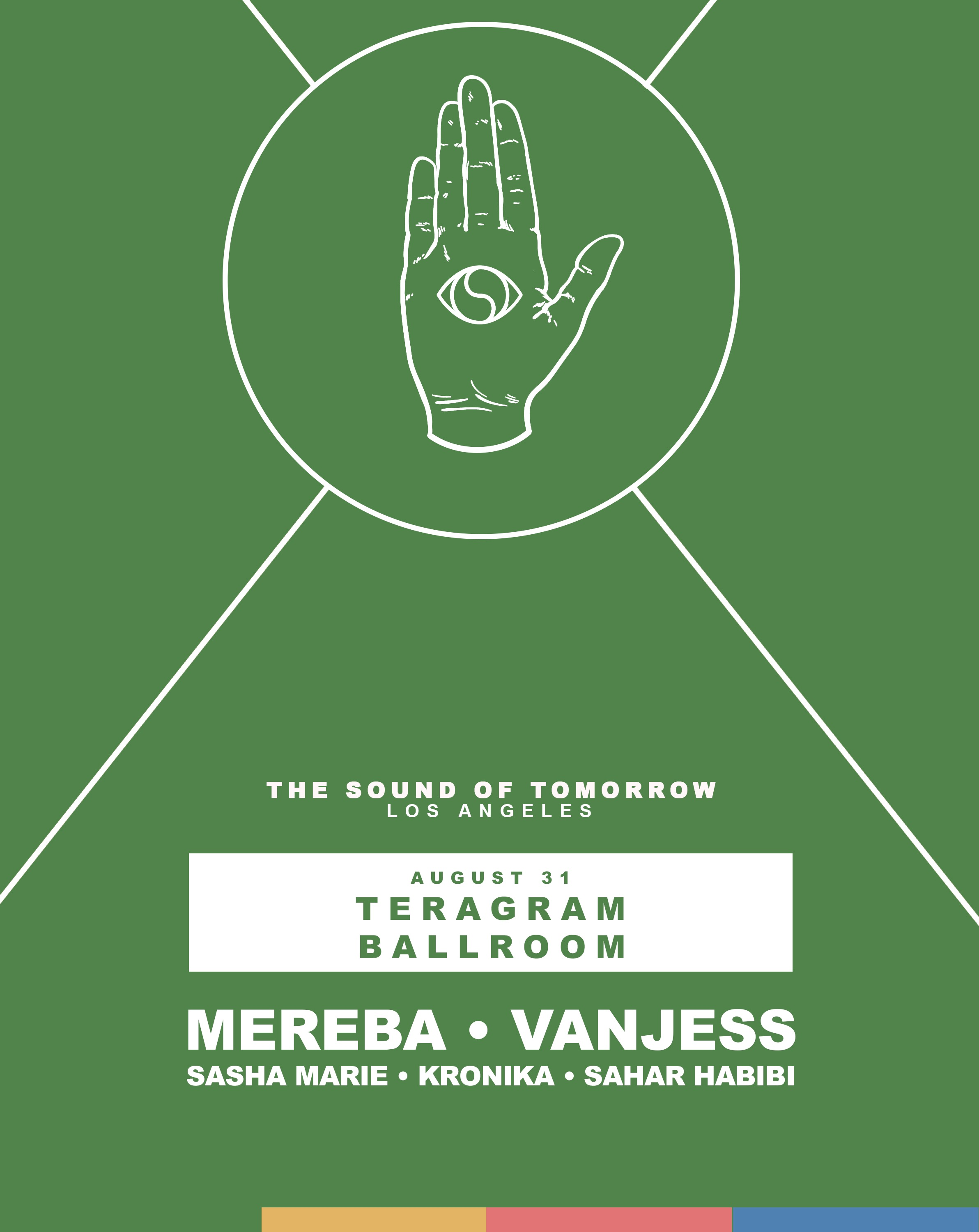 Teragram Ballroom Full Line Up Flyer
