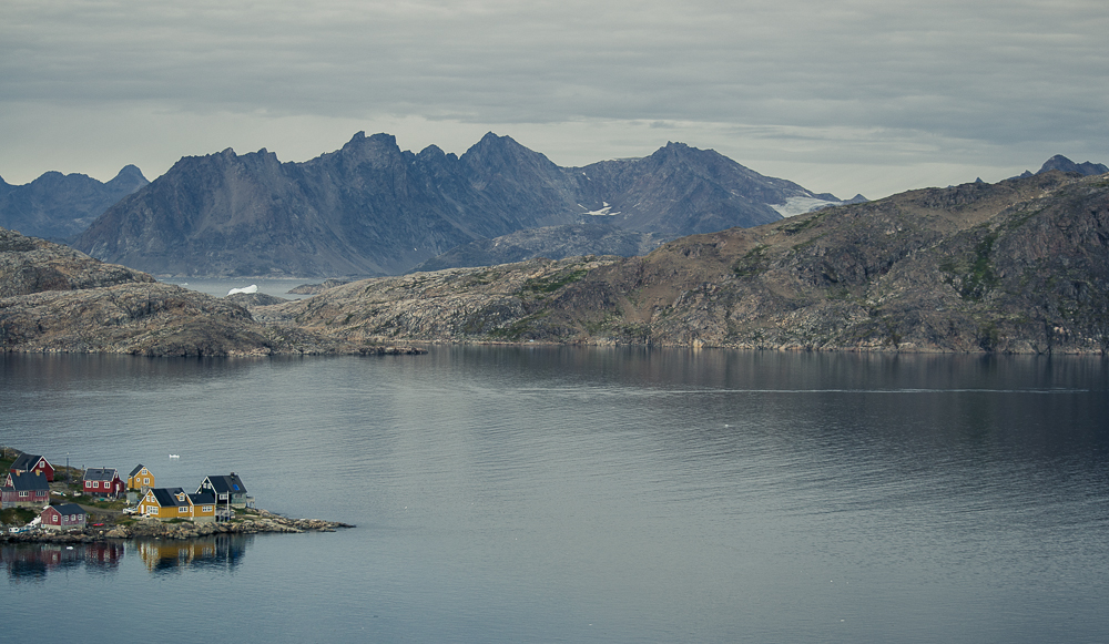 A tiny village in possibly the most far removed place from home I have ever visited - Kulusuk, Greenland.