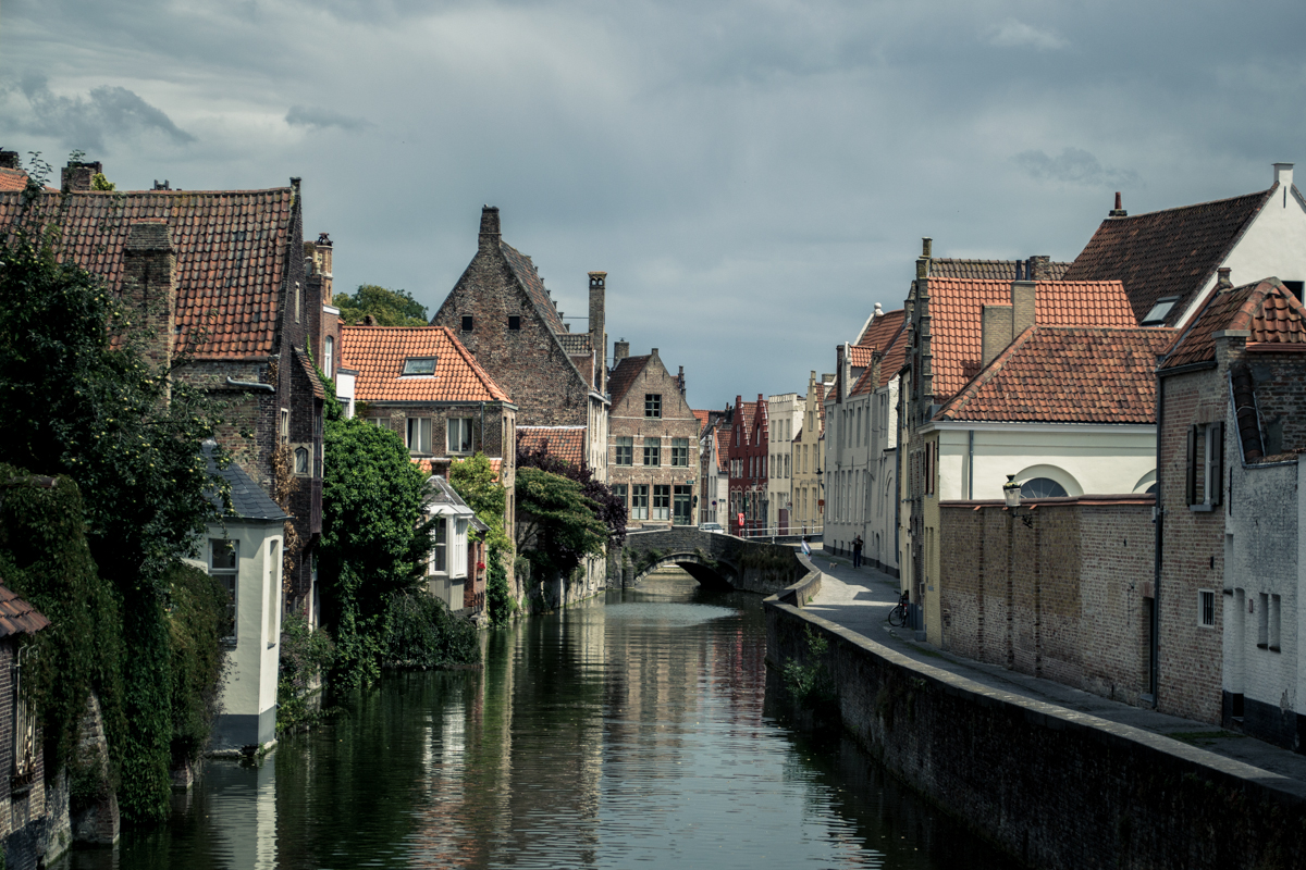 Brugge. Such a magical little town to stroll around in a state of silent reverie.
