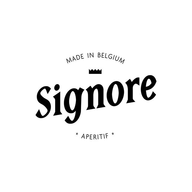 Last but not least, the logotype ans icon we've created for the brand @signoredistillery. We advice you to try this Belgium made aperitif, the perfect summer cocktail 🍸🍋🌱☀️. —  #logotype #graphicdesign #madeinbrussels #visualidentity #branding #aperitif #signoredistillery  In collaboration with @esth.poch & @ken_bcruz