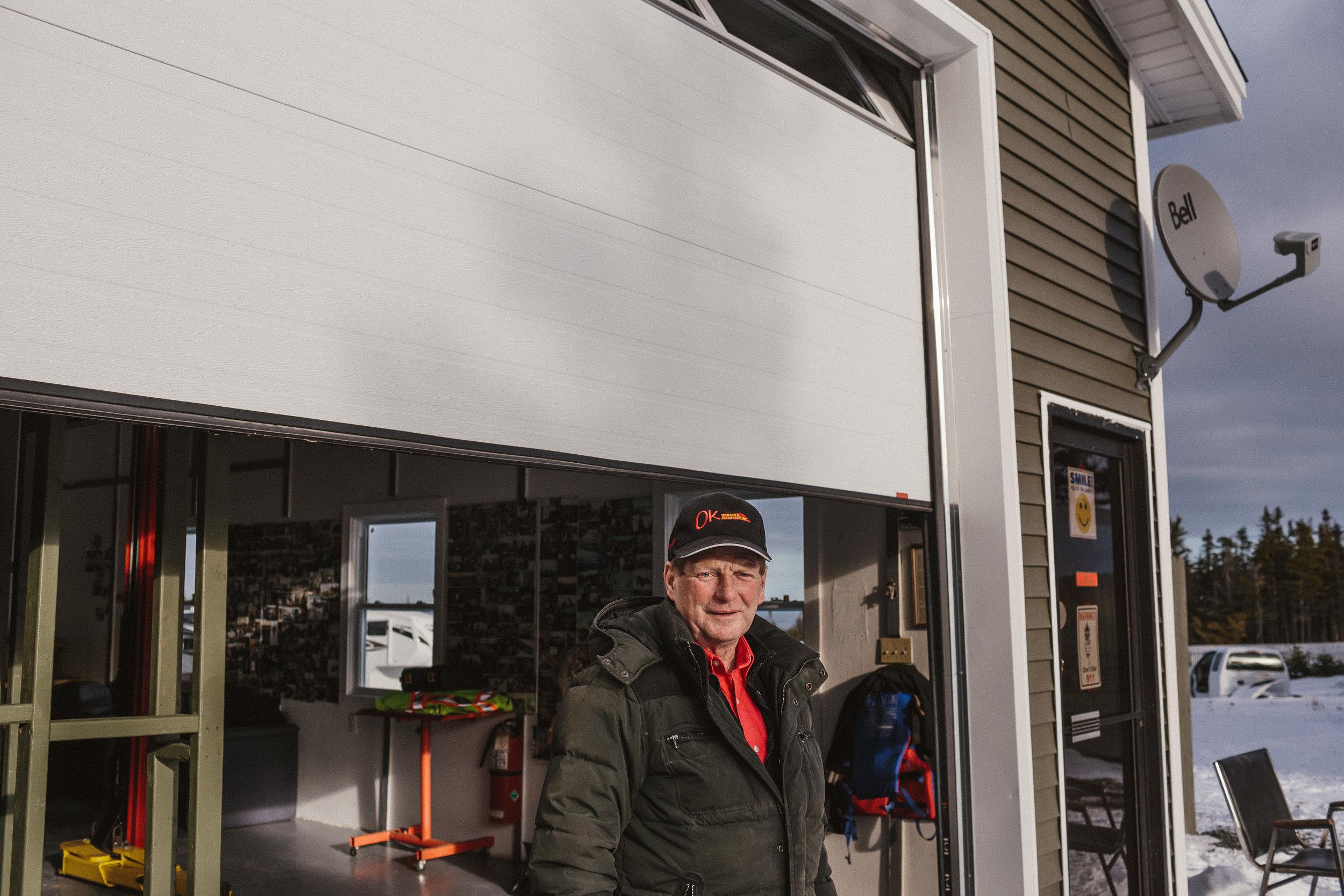 Bob O'keefe . The Man , the rebuilder.