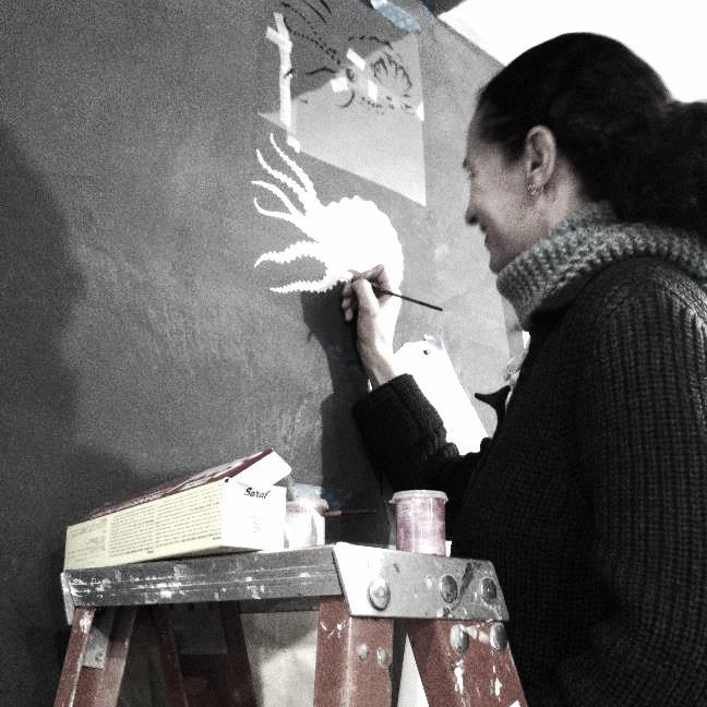 HELEN QUINN  is an artist and stylist.