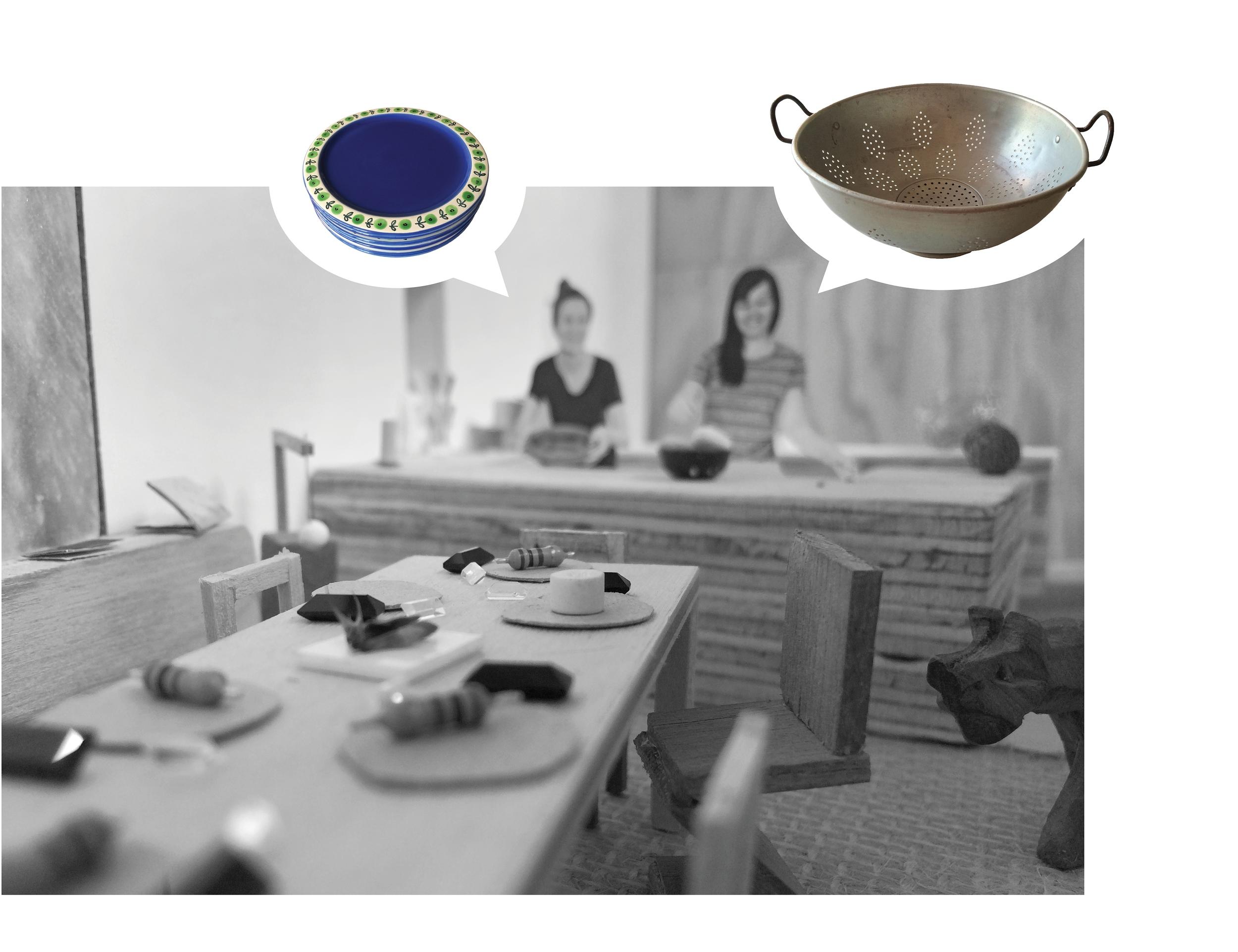 FAMILY DINNER KITCHEN