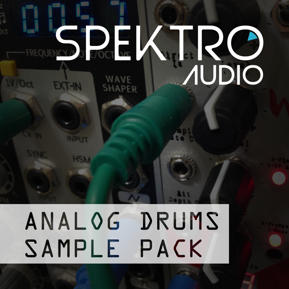 Analog Drums Sample Pack